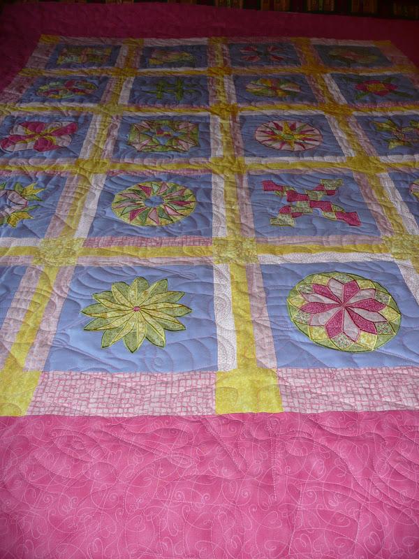 Acorn Ridge Quilting: Carol s Embroidered Quilt Blocks Quilt
