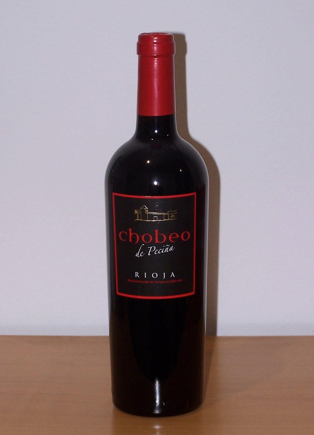 Chobeo de Peciña Tinto 2007, D.o.c Rioja