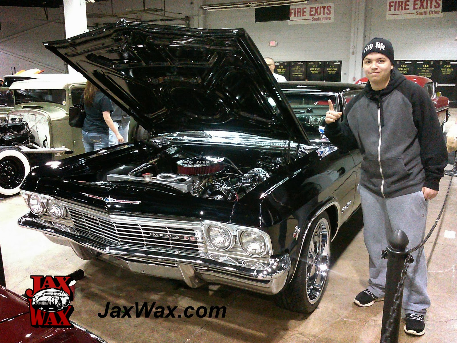 1965 Chevy Impala SS Jax Wax Customer Chicago World of Wheels