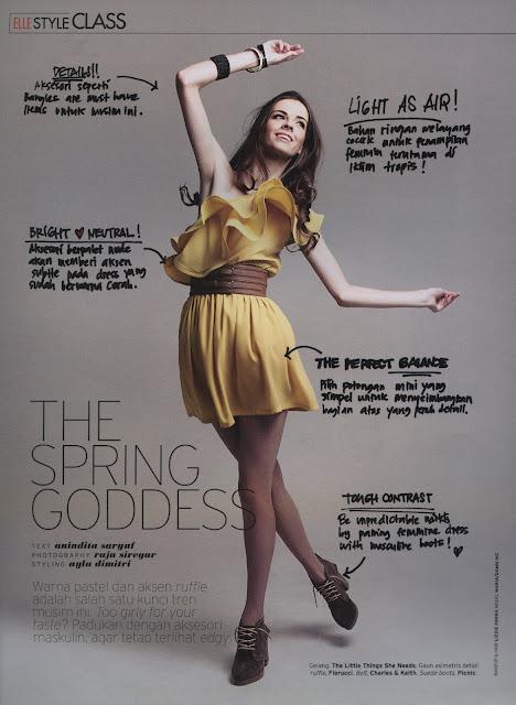 Masha Shtanova for ELLE Magazine
