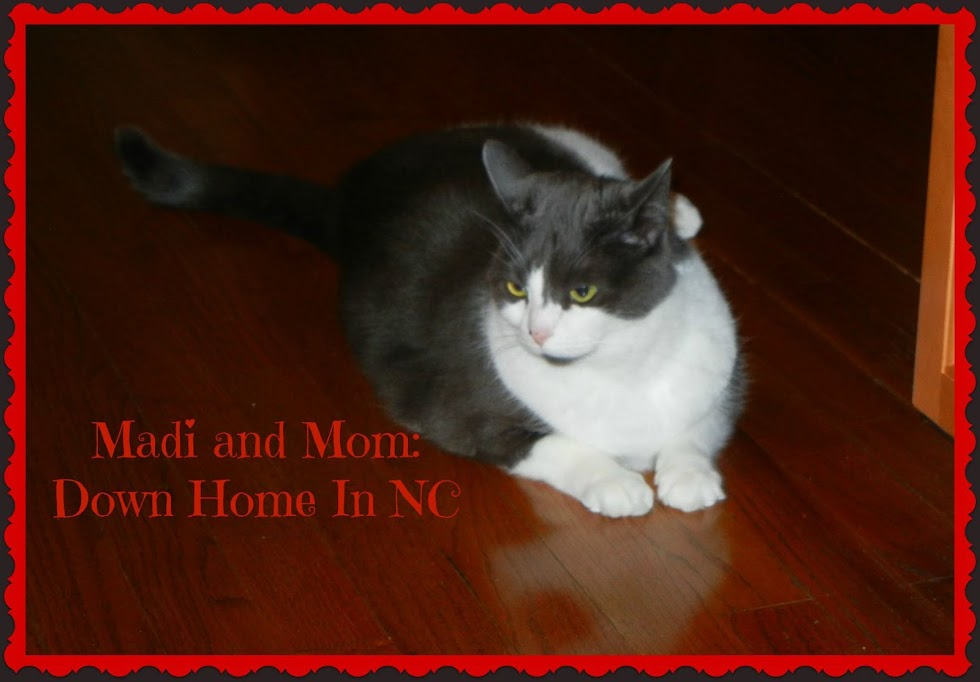 MADI AND MOM DOWN HOME IN NC