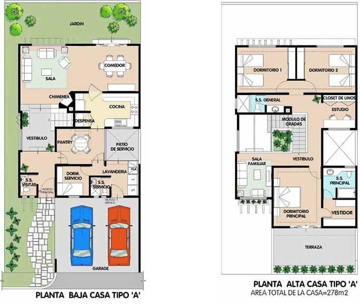 Planos de casas modelos y dise os de casas planos de for Planos gratis para construir casas