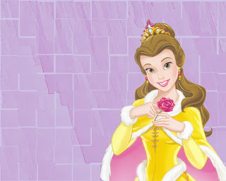Disney Princesses Valentine Card
