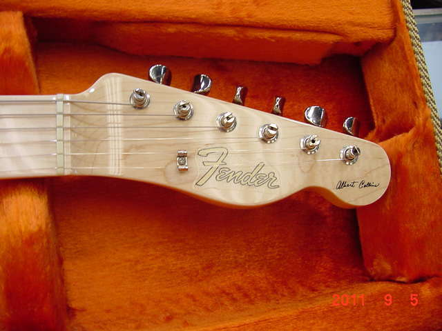 albert collins telecaster auction stratocaster guitar culture albert collins telecaster auction