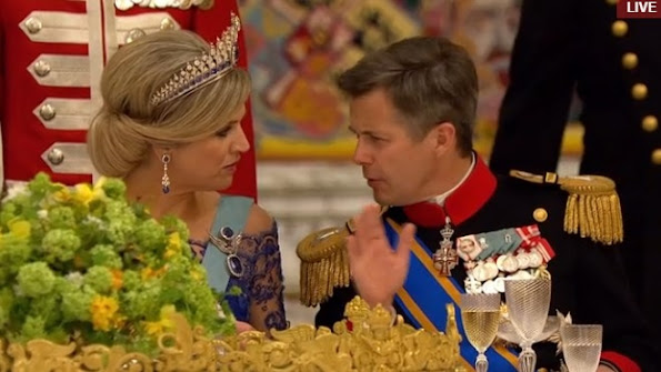 Danish royal family attended the Crown Prince Frederik and Crown Princess Mary, Prince Joachim and Princess Marie, Princess Benedikte, HH Prince Richard and HH Princess Elisabeth.