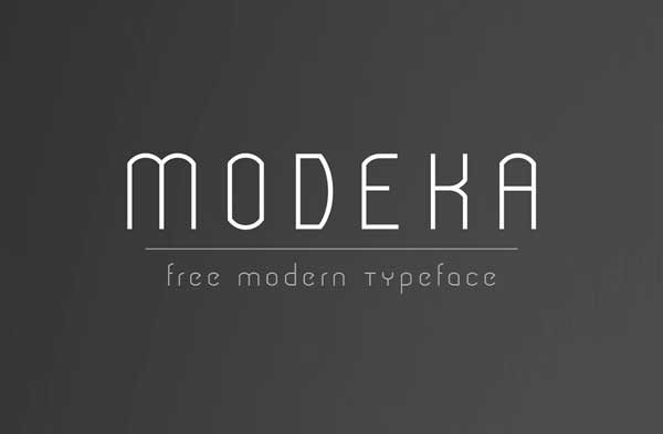 10 Free Minimalistic Fonts Ideal For Modern Design Jayce
