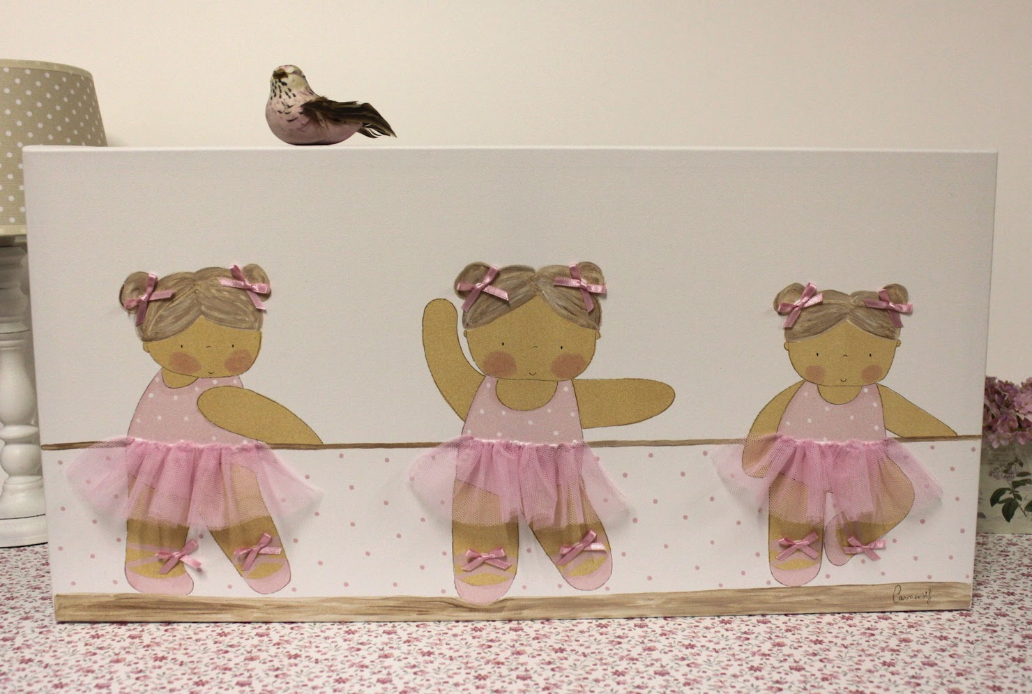 cuadro_infantil_personalizado_ballet