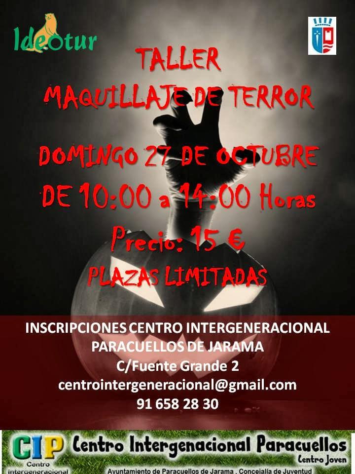 Taller maquillaje del terror halloween paracuellos 2013 - Tiempo en paracuellos del jarama ...