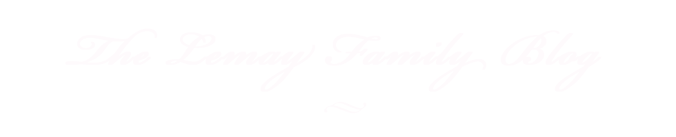 The Lemay Family Blog