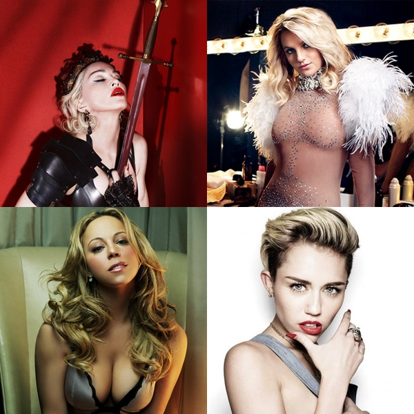 Las 20 artistas que más álbumes vendieron en la década del 2000-2009