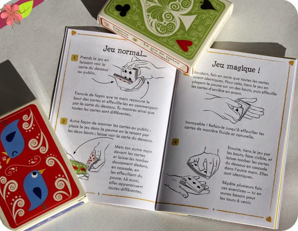 Ma valisette : Tours de cartes - éditions Usborne