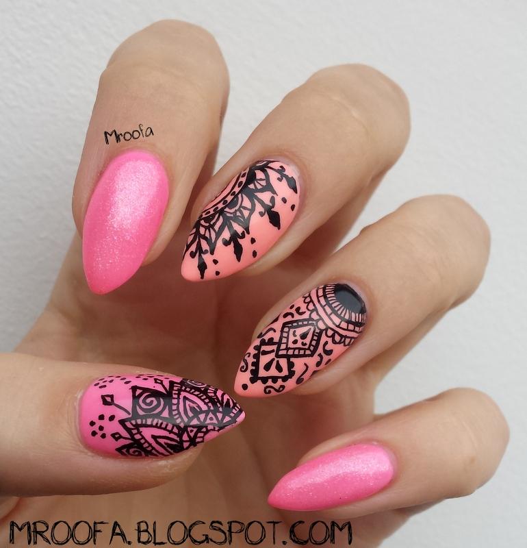 Sleeping Beauty Nails: Meet Beauty Conference Nails- Zdobienie Rapidografem