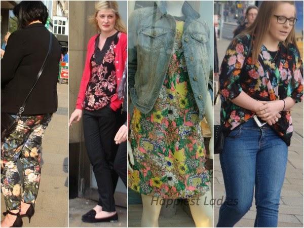 floral tops & pants