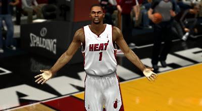 NBA 2K14 Chris Bosh HD Cyberface