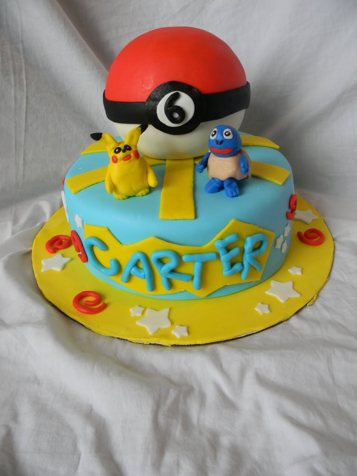 Jesicakes Pokemon Birthday Cake