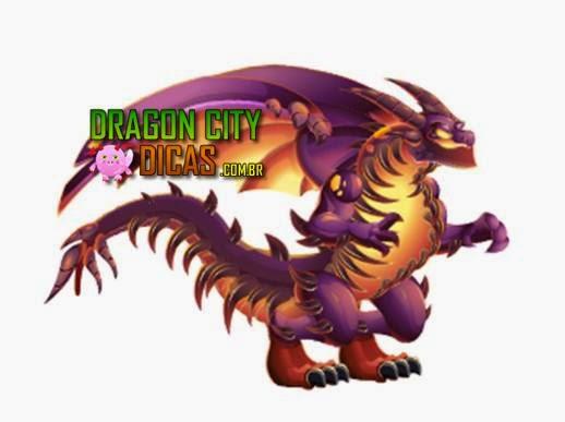 Dragão de Mandíbulas Escuras