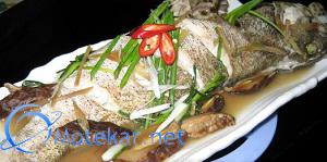 Inilah resep ikan kerapu tim yang super enak, cara memasak ikan kerapu tim