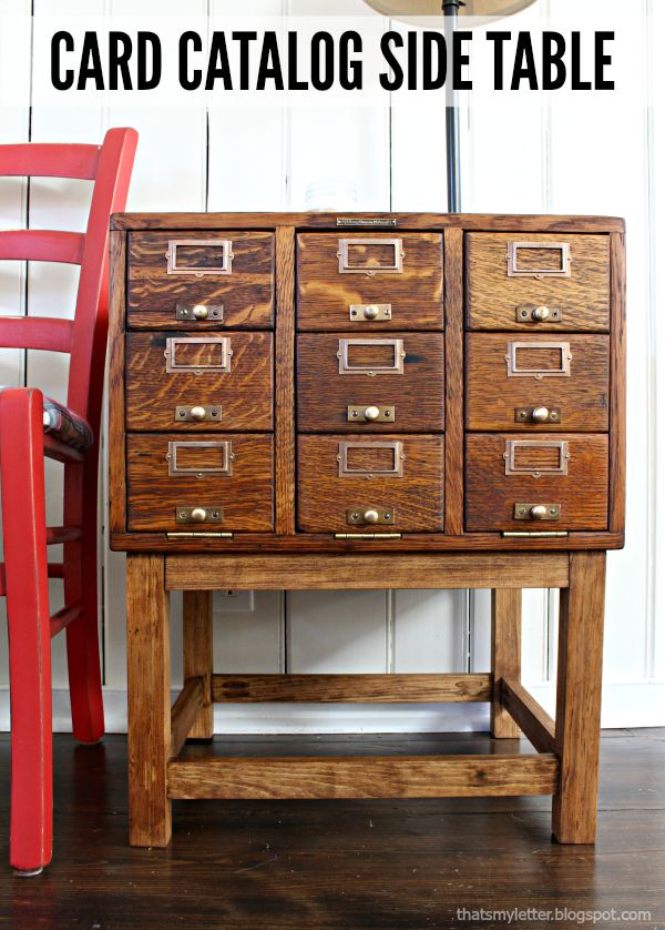 how to create a card catalogue