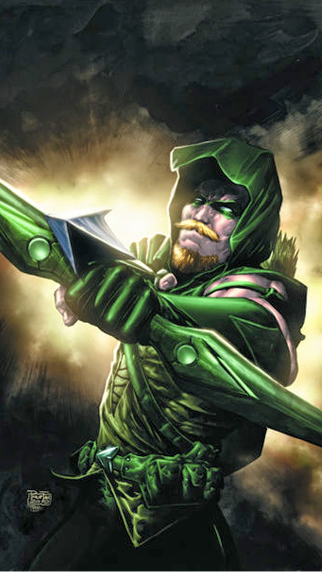gallery for green arrow wallpapers