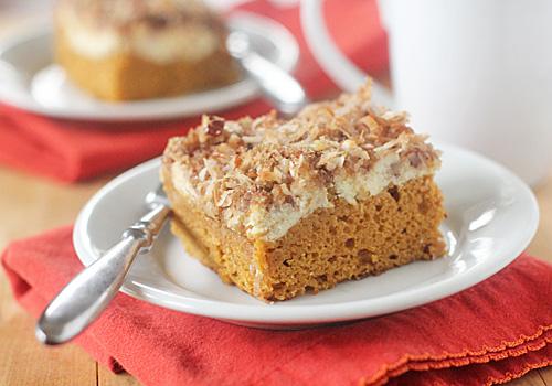 recipe: pumpkin cream cheese coffee cake [12]