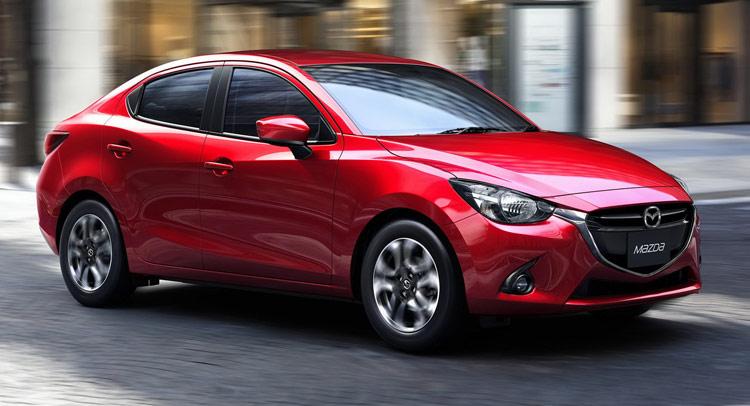 Mazda Gives Birth To Mazda2 Baby Sedan