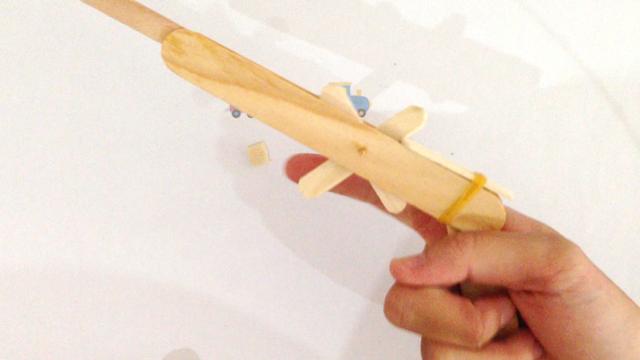 DIy Click Clack Toy Gun 3