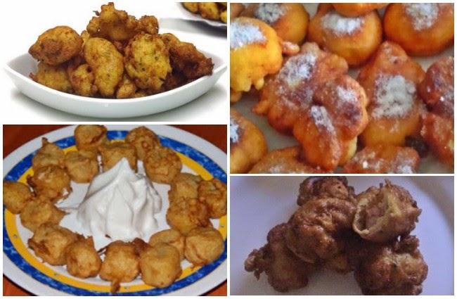 Recetas de Buñuelos Dulces y Salados