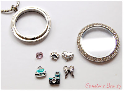 Origami Owl Living Locket and Charms