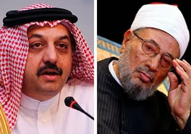 عالمي وزير الخارجيّة القطري يتبرّأ تصريحات القرضاوي تجاه الإمارات يوجّه el-karadawy9atar.jpg