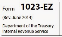 Form 1023 EZ Revised June 2014
