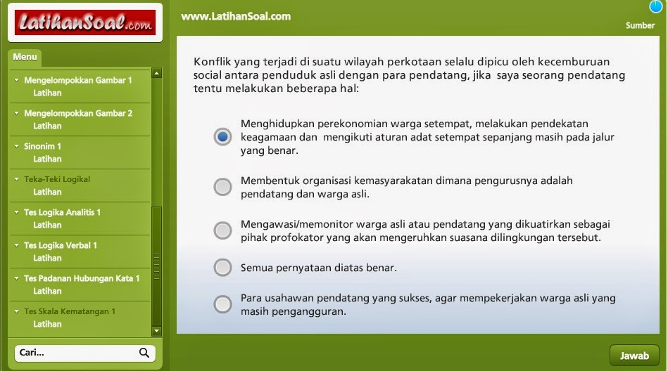 free download latihan soal tes cpns
