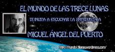 """Bego Luhema me entrevista en el programa radiofónico """"El mundo de las trece lunas"""""""