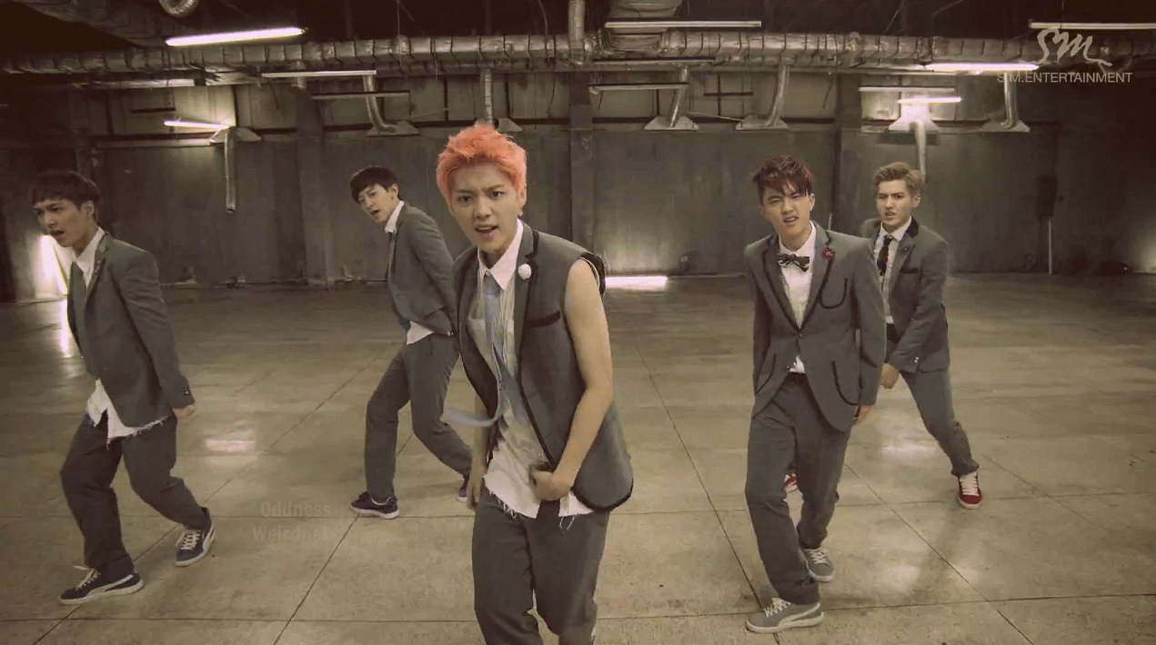Google themes exo growl