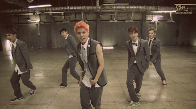 screencap exo growl mv