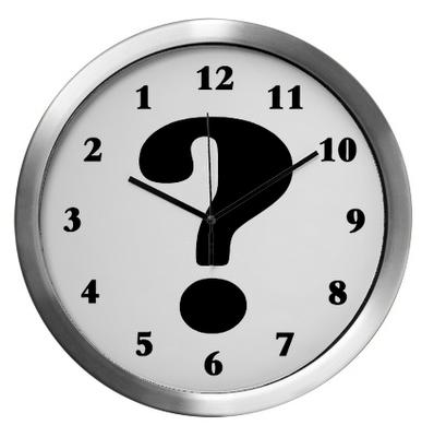 AlbertEinstein svarte: Tider det du måler med ei klokke.