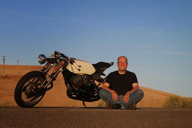 Julian Farnam RD400 Yamaha CHOPPRD Motorbike