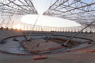 Arena Castelão em Fortaleza é a mais adiantada da Copa