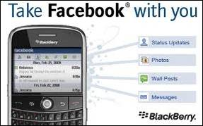 How to logout of facebook on blackberry