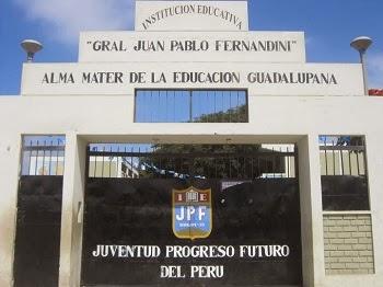CEBE GENERAL JUAN PABLO FERNANDINI - Guadalupe
