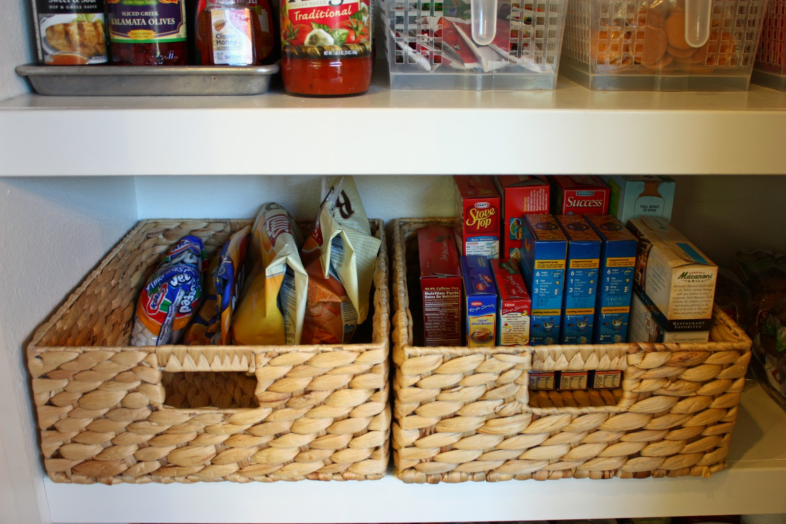 & Pantry Organization - the next level! - The Sunny Side Up Blog