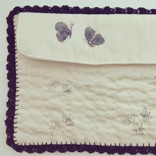 pochette à crochets