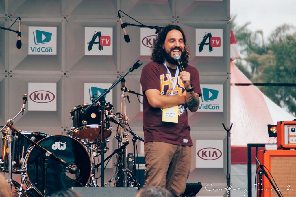 VidCon 2015 Mike Falzone