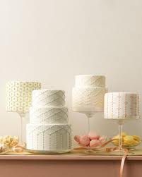 Martha Stewart Quilted Elegant Wedding Cakes