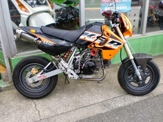 Modifikasi Kawasaki KSR 110 Keren