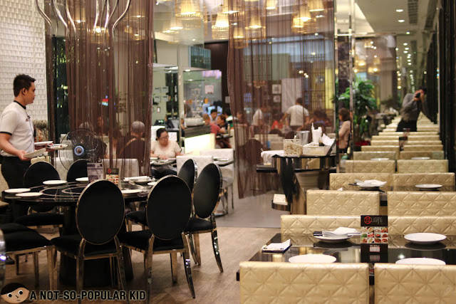 Interior of Lugang Cafe
