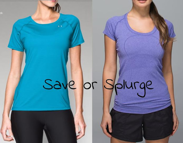 Running short sleeve save or splurge