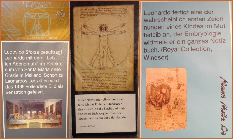Leonardo Da Vinci Ausstellung