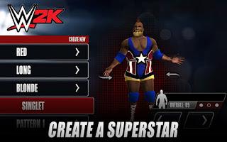 WWE 2K Mod Apk (UNLOCKED & ITEMS) Terbaru