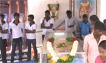 Ilavarasan Body cremated in is native Place with Police protection