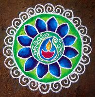 Rangoli in Chennai